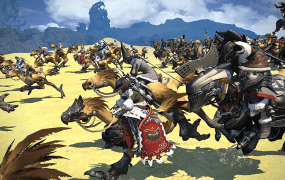 Final Fantasy XIV: A Realm Reborn looks great on the PlayStation 4.