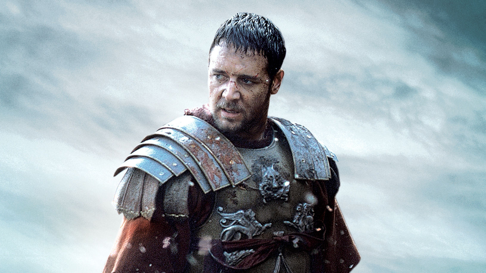 """Russell Crowe in Ridley Scott's """"Gladiator."""""""