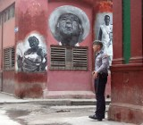 A policeman in Havana, Cuba.