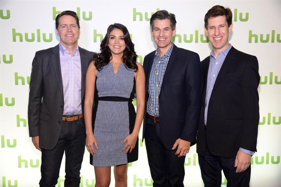 Press photo from Hulu's Upfront event in New York 2014