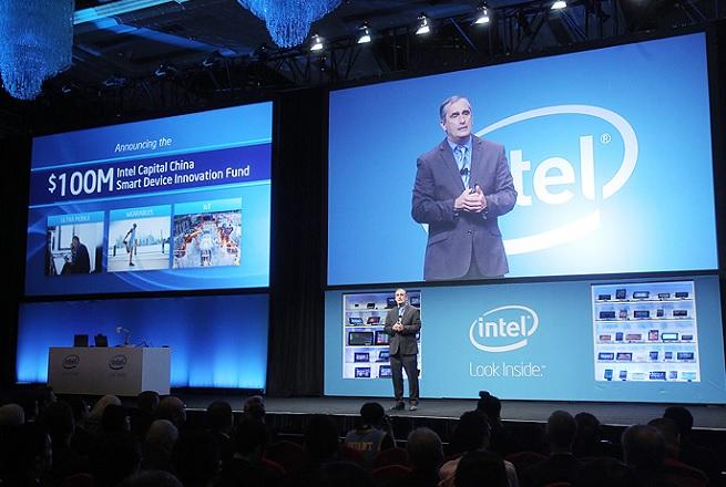 Brian Krzanich, Intel CEO, at IDF China