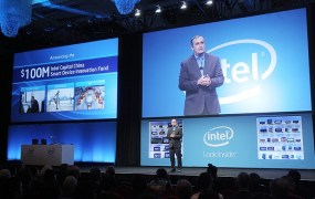 Brian Krzanich, Intel CEO, at IDF China