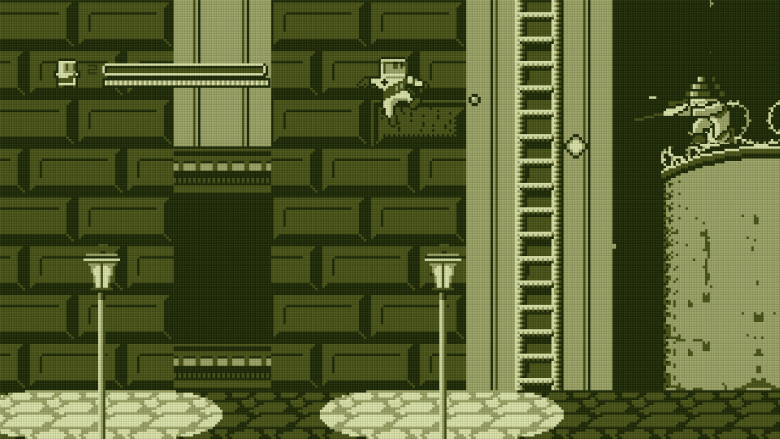 Super Rad Raygun clearly takes inspiration from Mega Man.