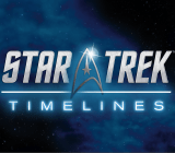 The logo from the upcoming Star Trek game from Disruptor Beam.