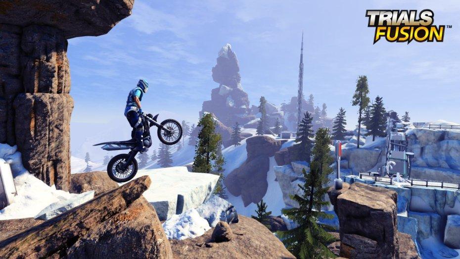 Trials Fusion runs at 60 frames per second on all platforms.