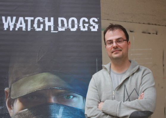 Jonathan Morin, creative director on Watch Dogs