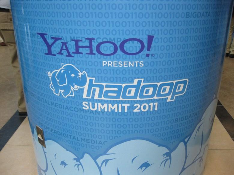 Yahoo Hadoop sign Yahoo Flickr