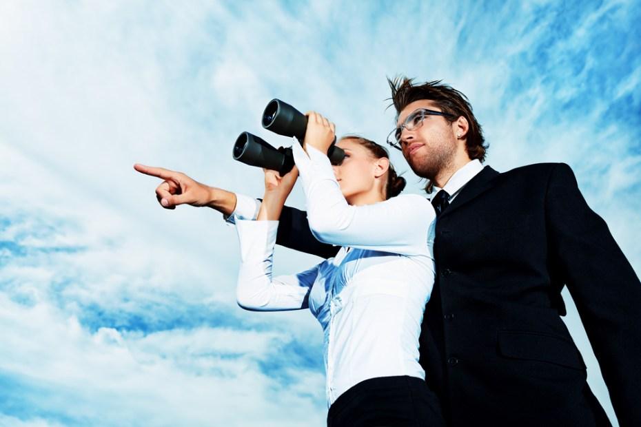 Binoculars searching cloud Kiselev Andrey Valerevich shutterstock