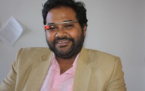 Ambarish Mitra, chief executive of Blippar