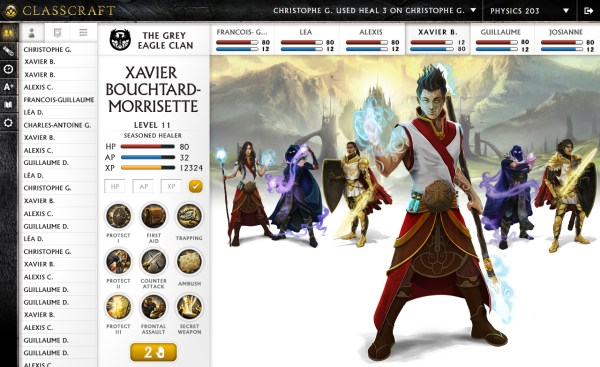 Students will be able to purchase items to customize their in-game avatar.
