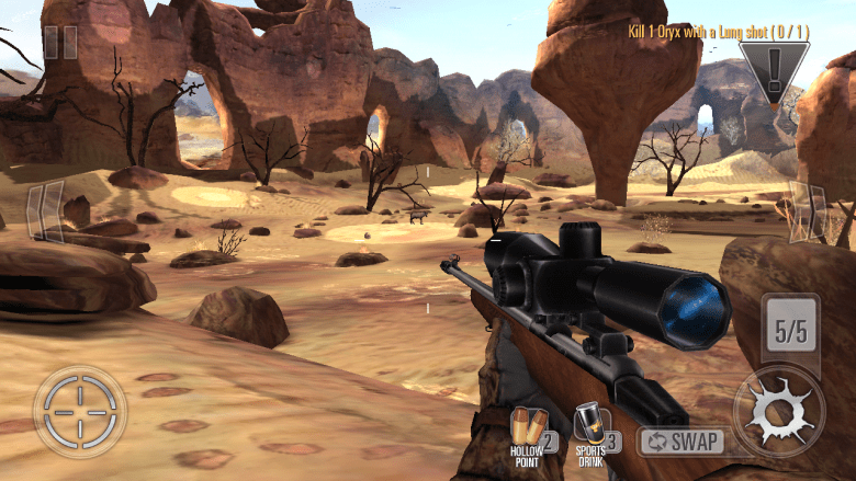 Glu's Deer Hunter 2014 is one of the free-to-play properties helping to revitalize the developer's financials.