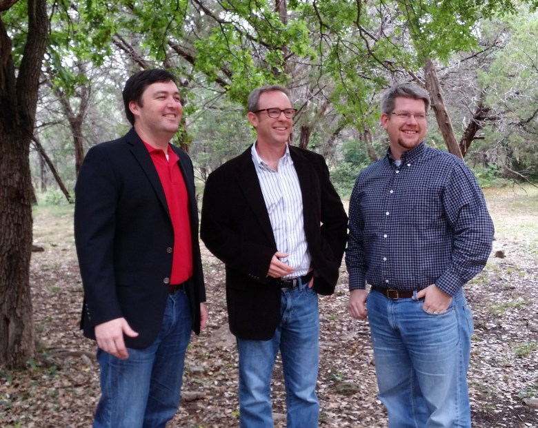 StepOne founders LtR: Bill Gravette, VP Services and Operations; Alex Mitchell, President; Erik Noren, VP Technology