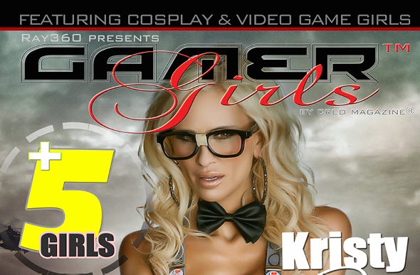 """Gamer Girls"" magazine features cheesecake models, something the founder says doesn't objectify women."
