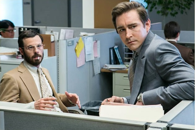 "Scoot McNairy and Lee Pace in AMC's ""Halt and Catch Fire"""