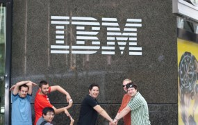 IBM sign Iouri Goussev Flickr