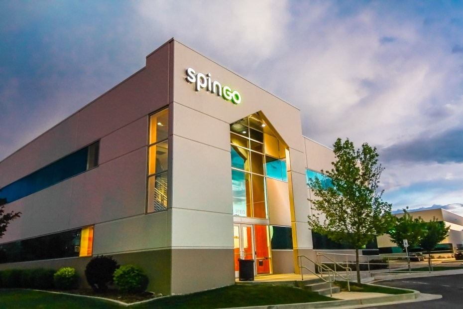 SpinGo's headquarters in Draper, UT.