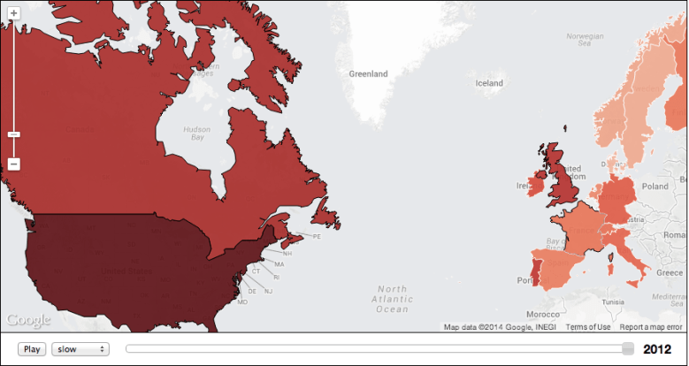 Carnegie Mellon income inequality map