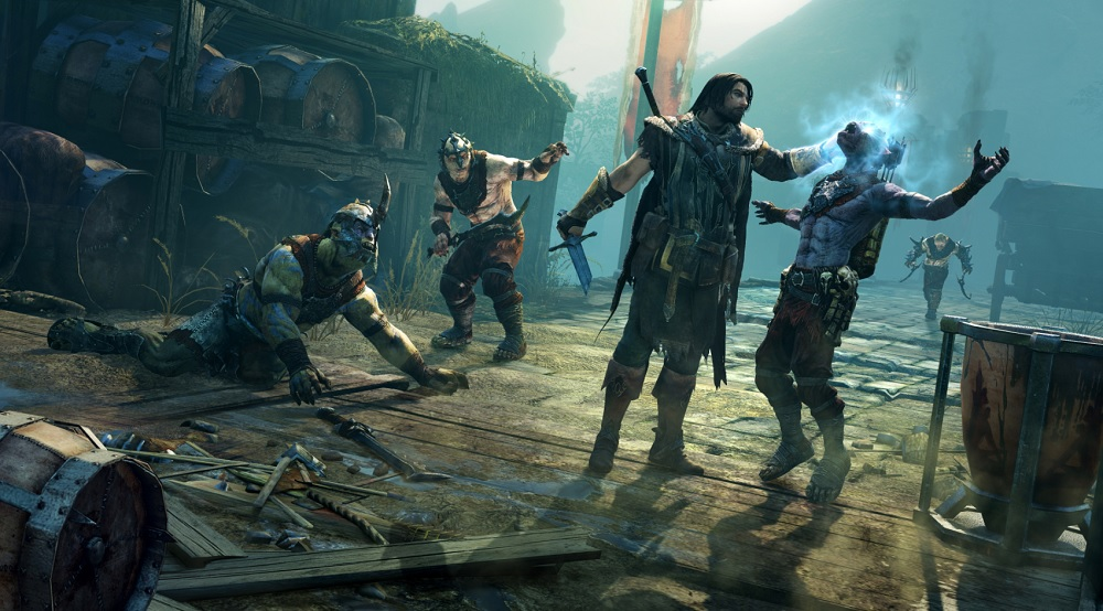 In Shadow of Mordor, Talion takes control of an orc.