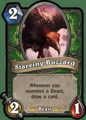 Starving Buzzard