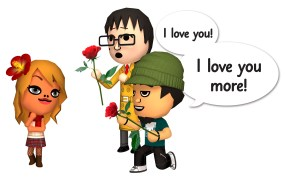 Romance is a big part of Tomodachi Life ... as long as you're straight.