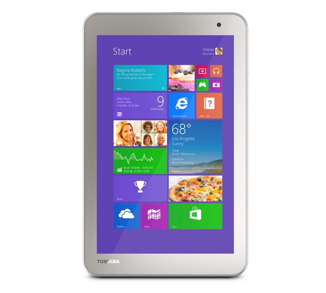 Toshiba Encore 2 eight-inch tablet