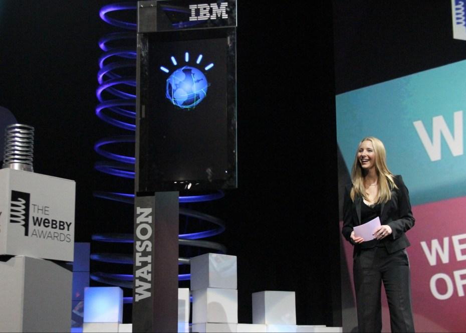 Watson with Lisa Kudrow IBM