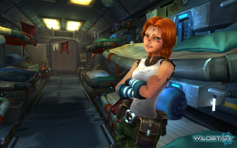Wildstar is the latest MMO bandwagon.