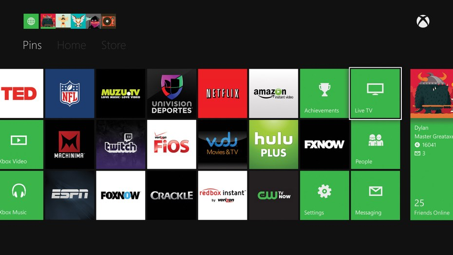 The various third-party video apps on Xbox One currently require a premium subscription.