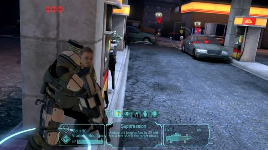 Combat in XCOM: Enemy Unknown