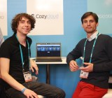 Cozycloud founders Frank Rousseau and Benjamin André.