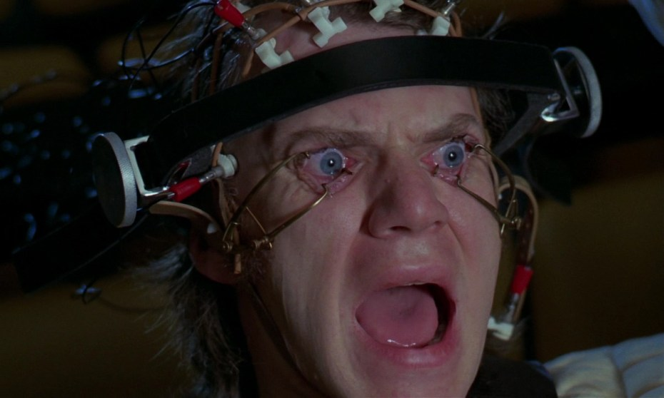 The Ludovico Technique is performed on Alex in Stanley Kubrick's 'A Clockwork Orange.'