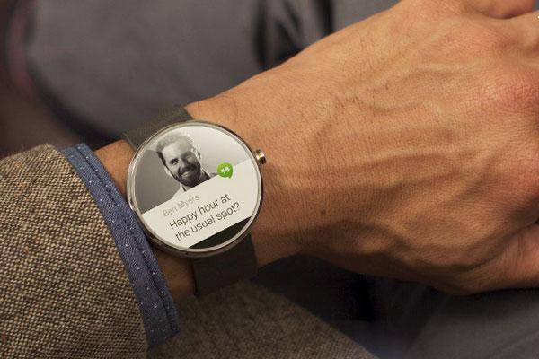 Motorola's Moto 360 Android Wear smartwatch