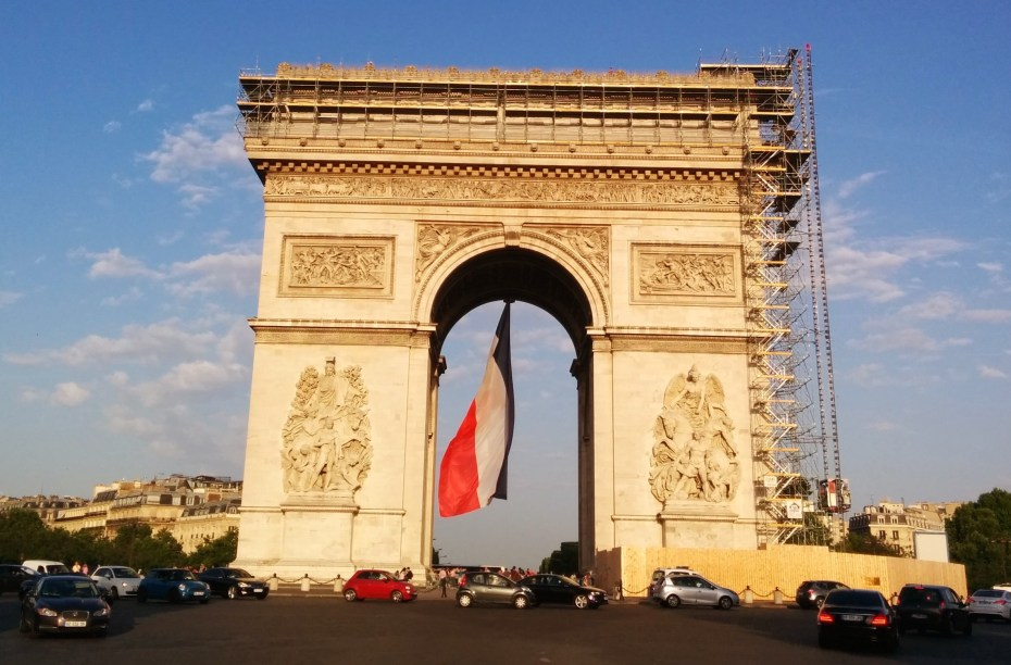France needs to spiff up its image as a startup-friendly country -- just as it's spiffing up the Arc de Triomphe.