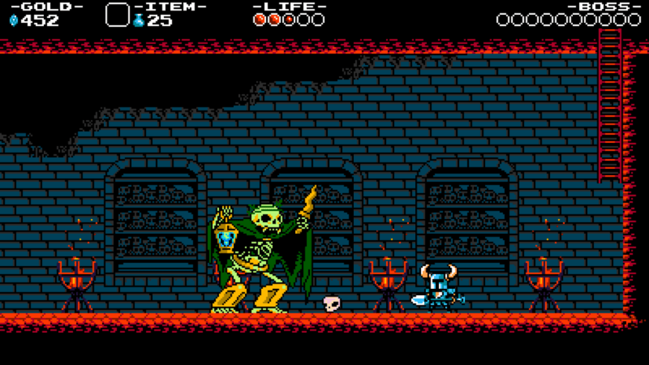 Shovel Knight looks old, but it plays great.