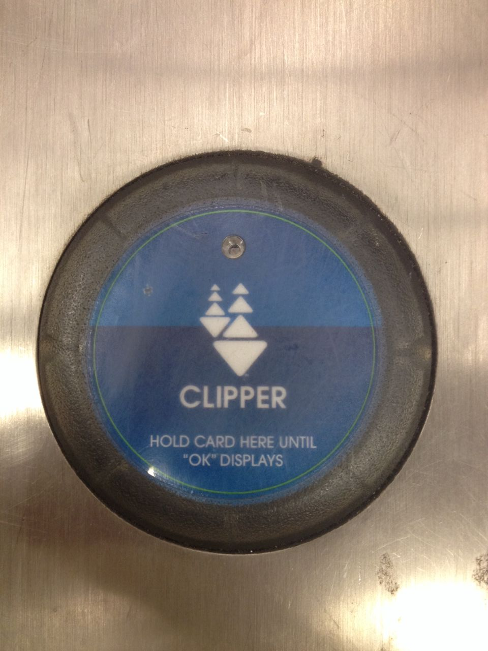 The Clipper card system.