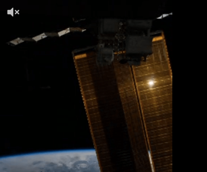 The first Vine video taken from outside the Earth.