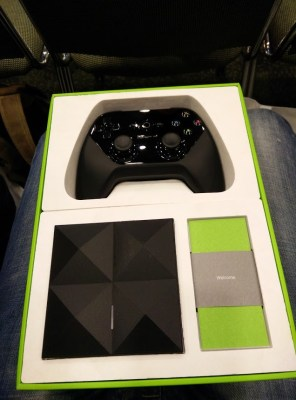 Google I/O attendee Artem Russakovskii posted an image of the Android TV controller to social media.