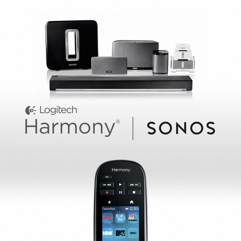 Logitech's Harmony remote will now control Sonos.