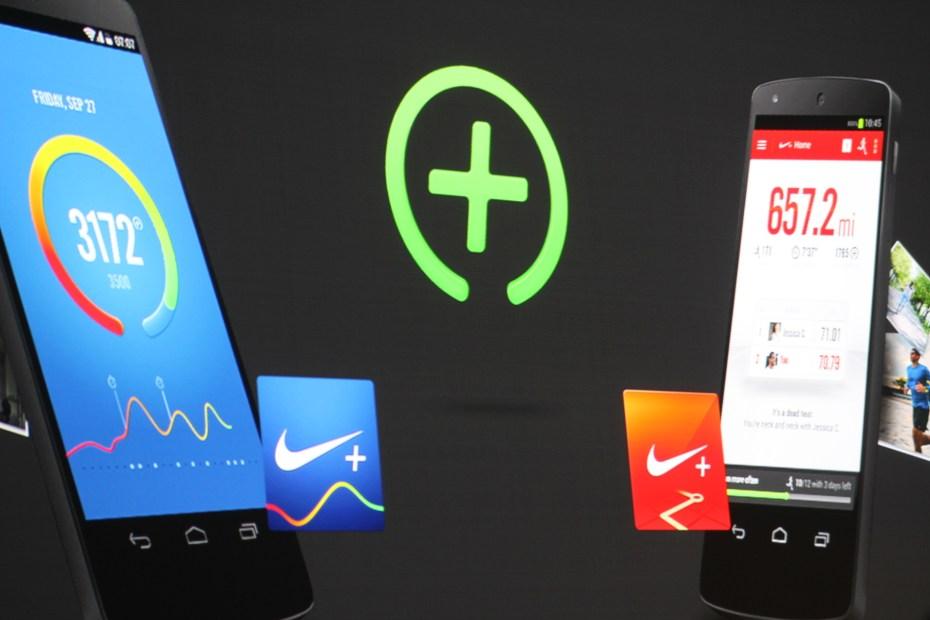 Nike FuelBand Google Fit Google I/O 2014