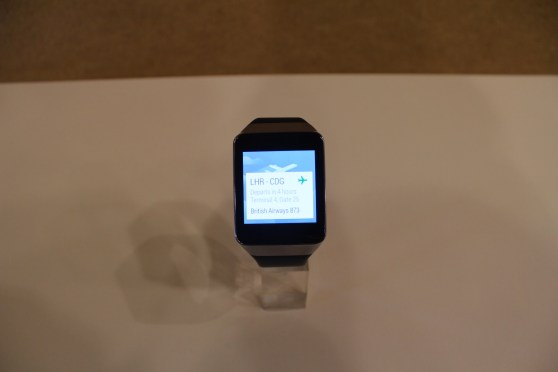 Samsung Gear Live flight