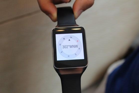 Samsung Gear Live compass