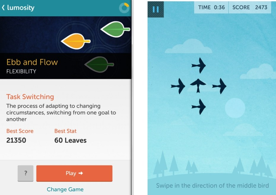 Lumosity on Android