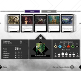 Magic 2015 lets you create your own decks from scratch.