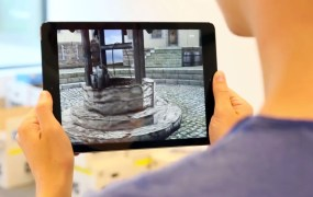 Metaio's new tech can anchor a virtual environment to a device's position and perspective.