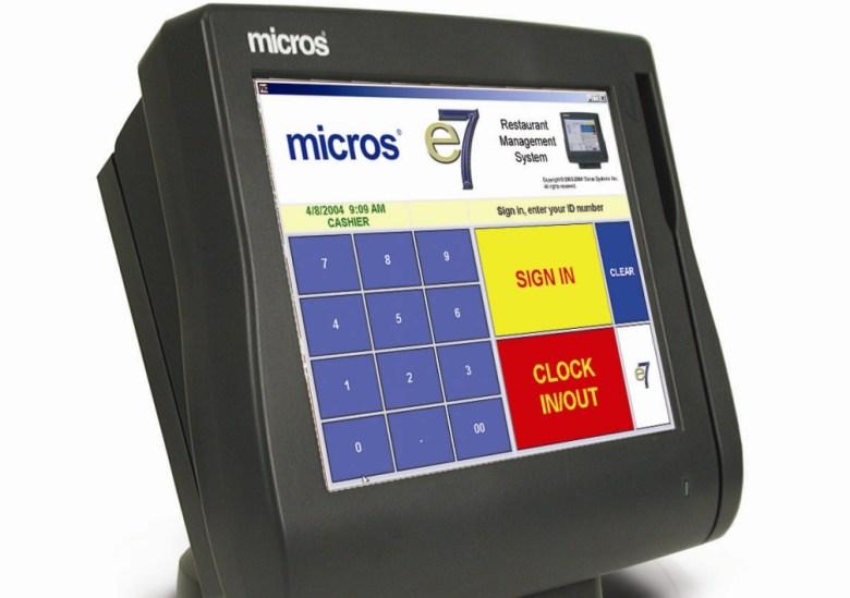 Micros e7 POS