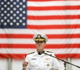 NSA chief Michael S. Rogers speaks at Fort Meade.