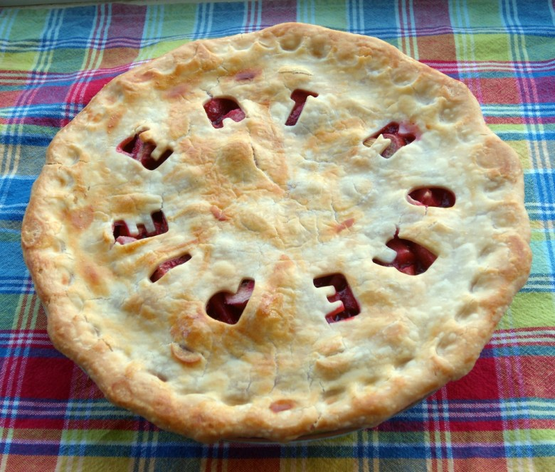 Even if you cut it into seven pieces, you'll still have the same amount of pie to eat.