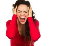 Screaming woman Johan Larson Shutterstock