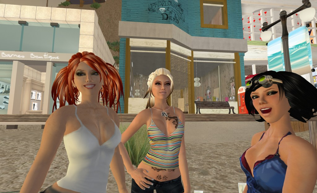 The avatars in Second Life are rudimentary compared to what is coming.