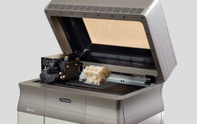 The Stratasys Objet24 Personal 3D printer